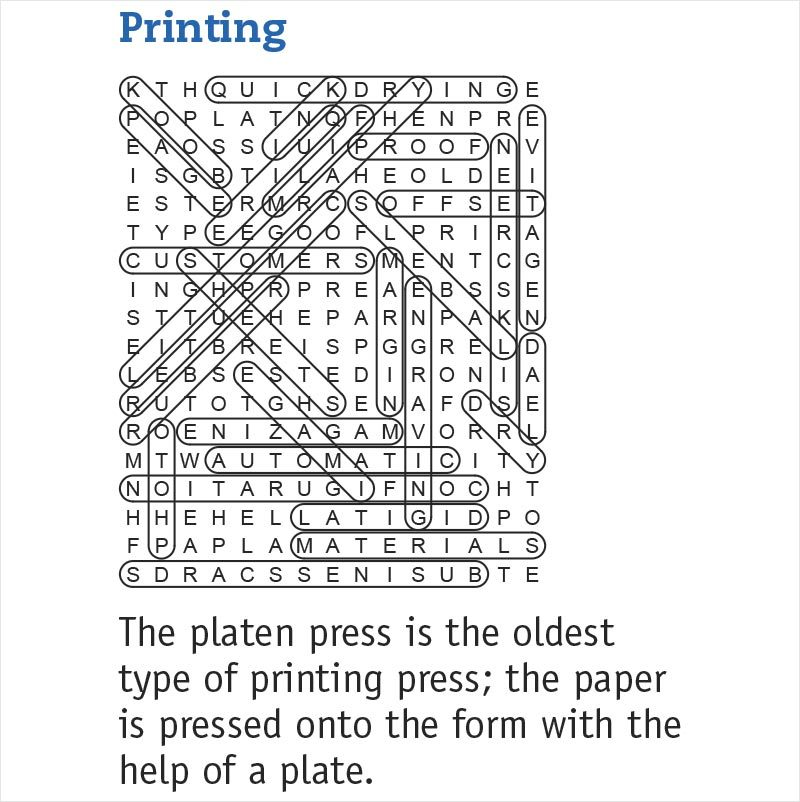 printing answers