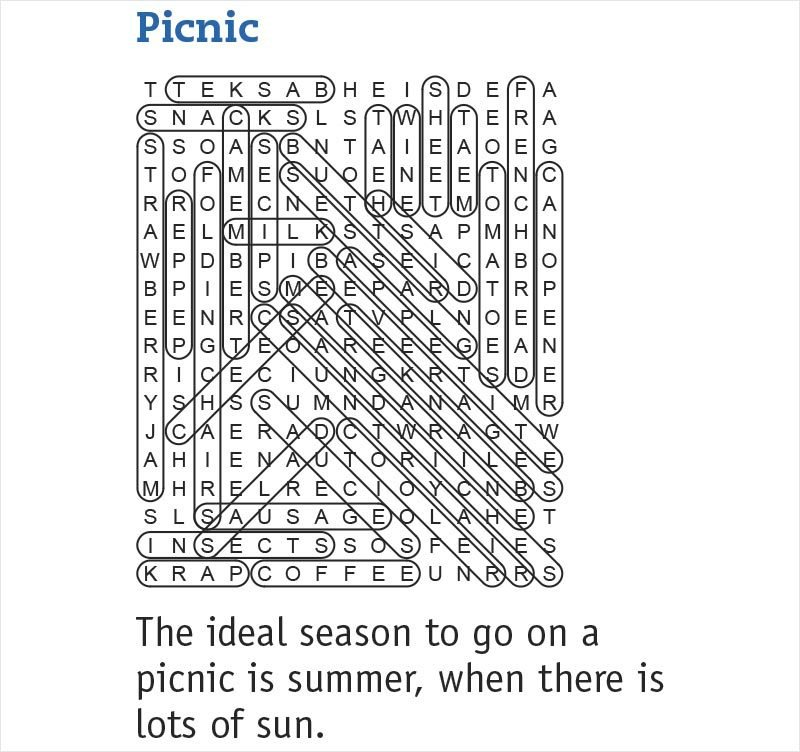 picnic answers