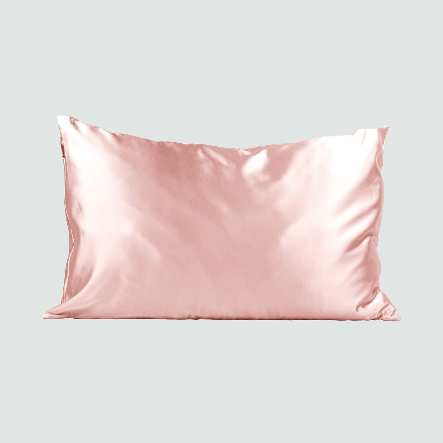 KITSCH Blush Satin Pillowcase