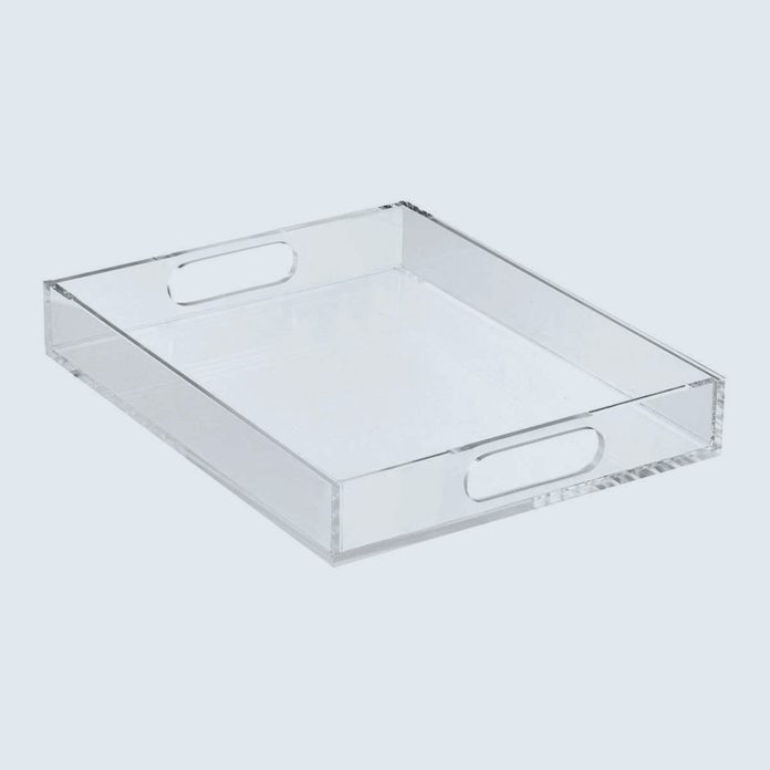 Clutter corralling trays