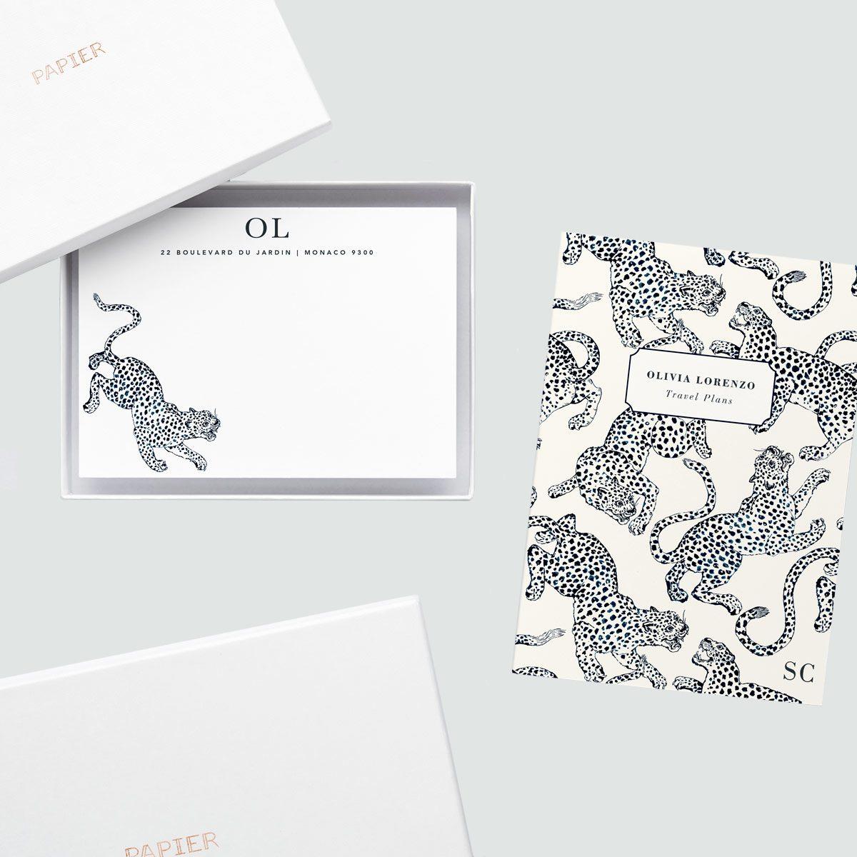 Papier Jaguar Notecards