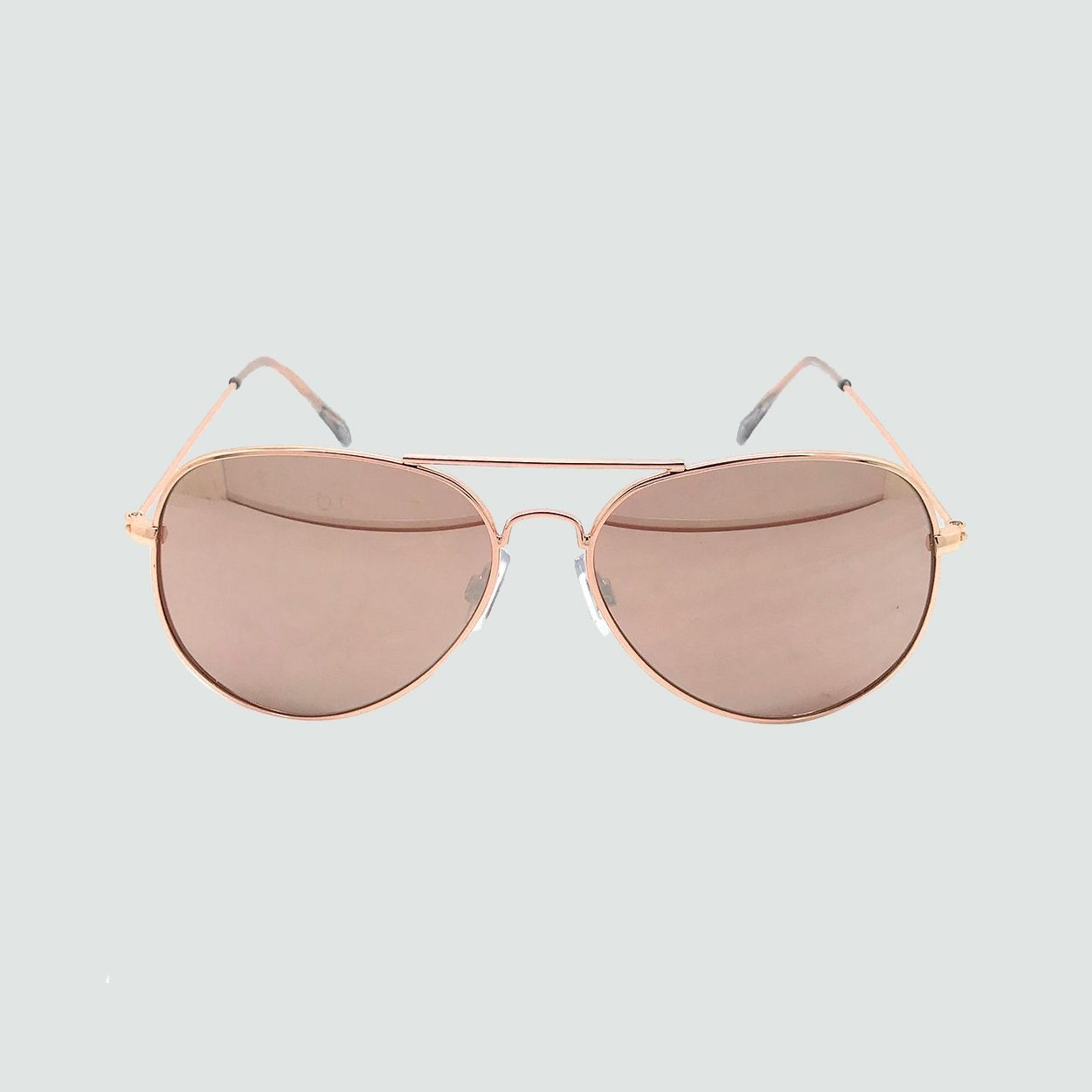 Aviator Rose Gold Sunglasses