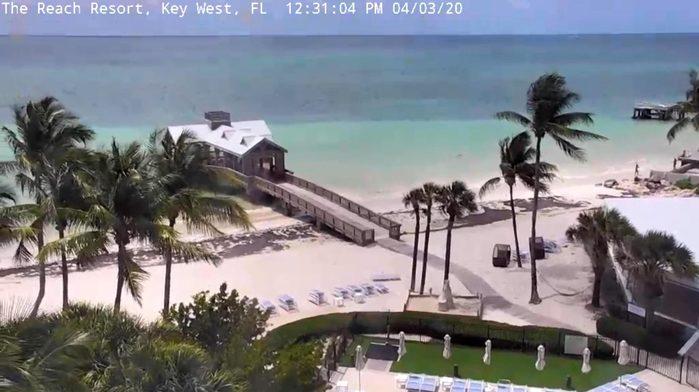 reach resort beach cam key west florida