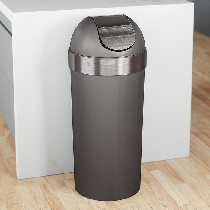 Oversized trash can