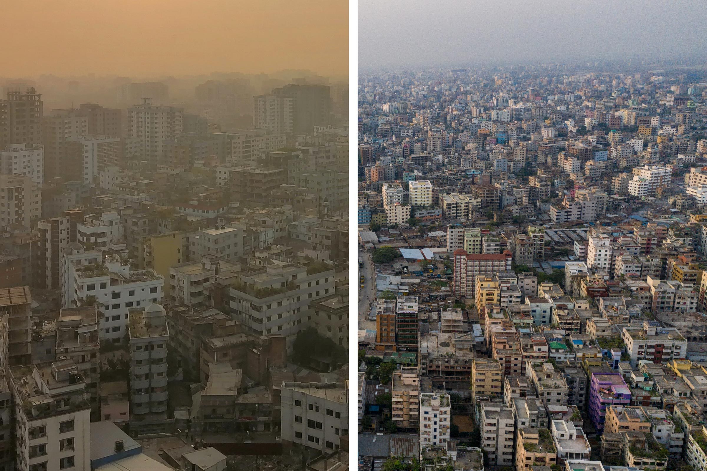 Before/After Dhaka
