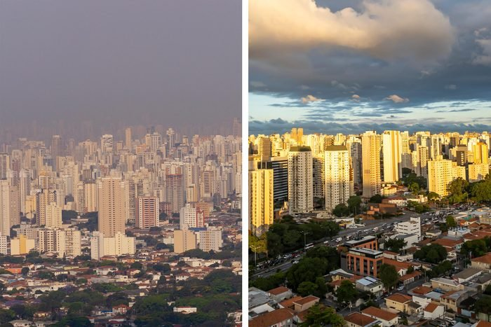 Before/After Sao Paulo