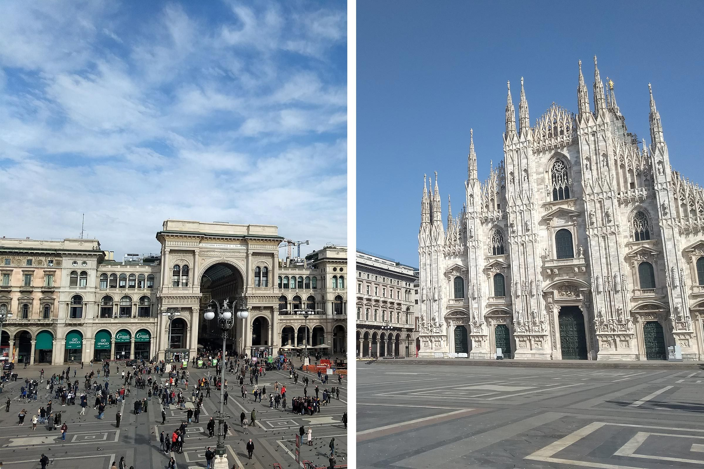 Before/After Milan