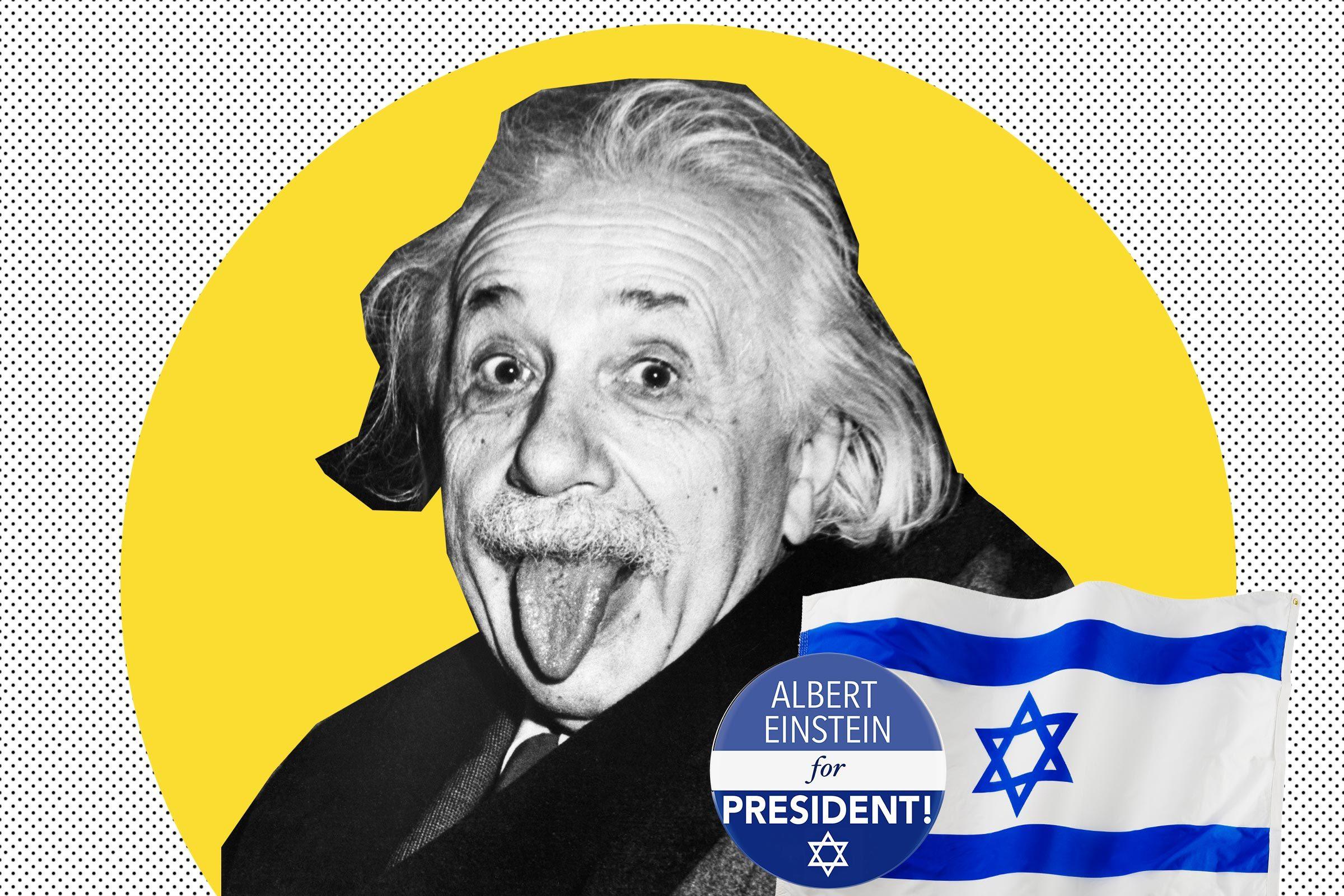 Einstein as Israeli President