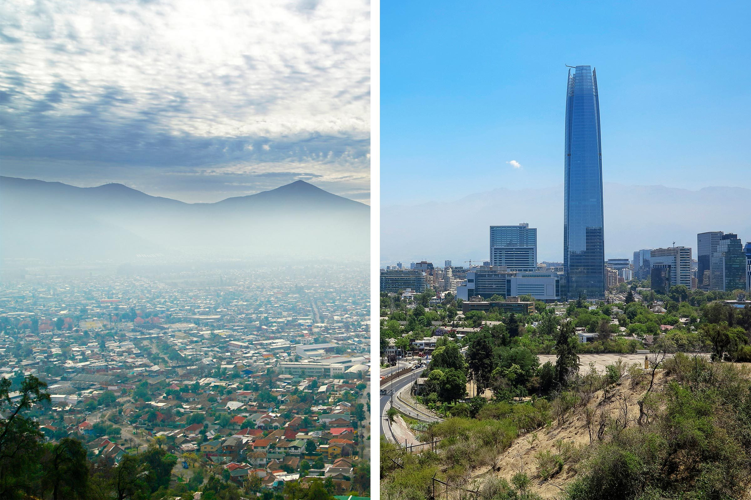 Before/After Santiago