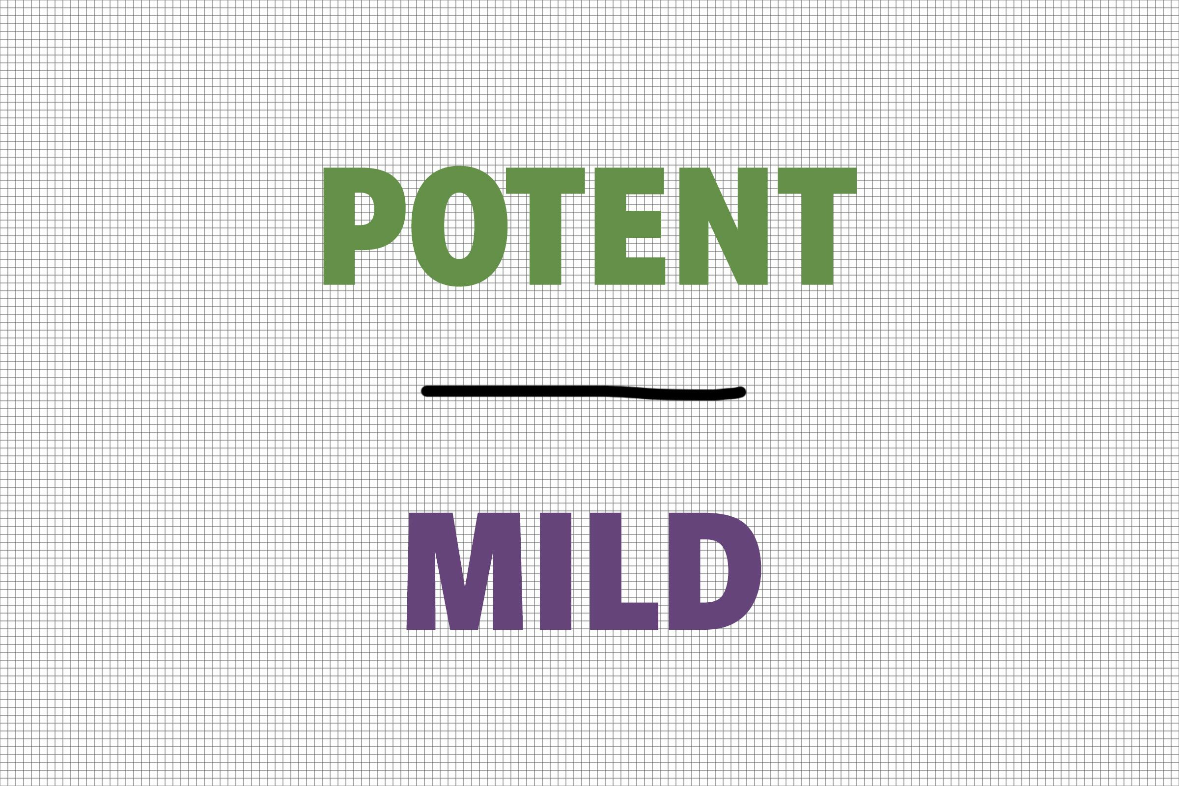 Potent/Mild