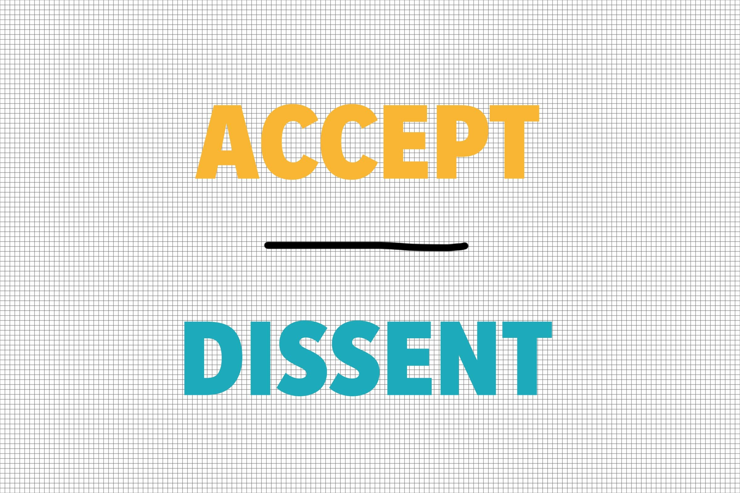 Accept/Dissent