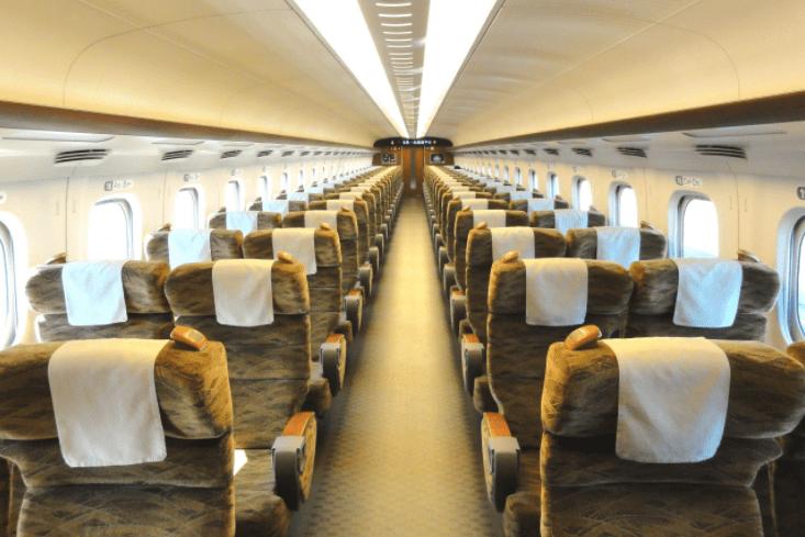 shinkansen luxury train