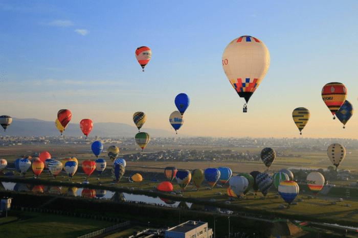 saga balloon festival