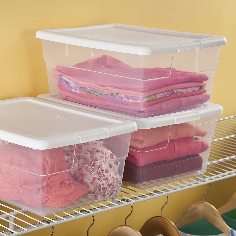 Sterilite 16 Quart/15 Liter Storage Box