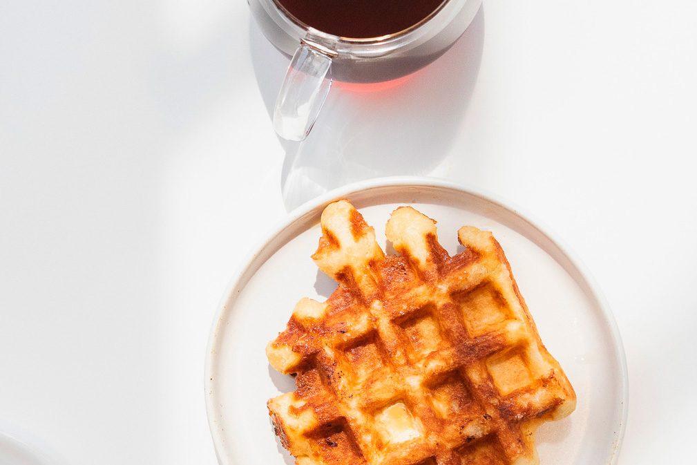 blue bottle coffee wafel recipe