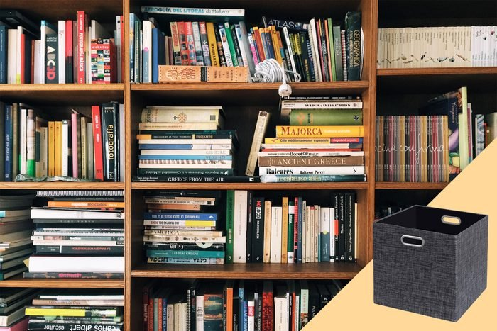 bookcase with suggested product