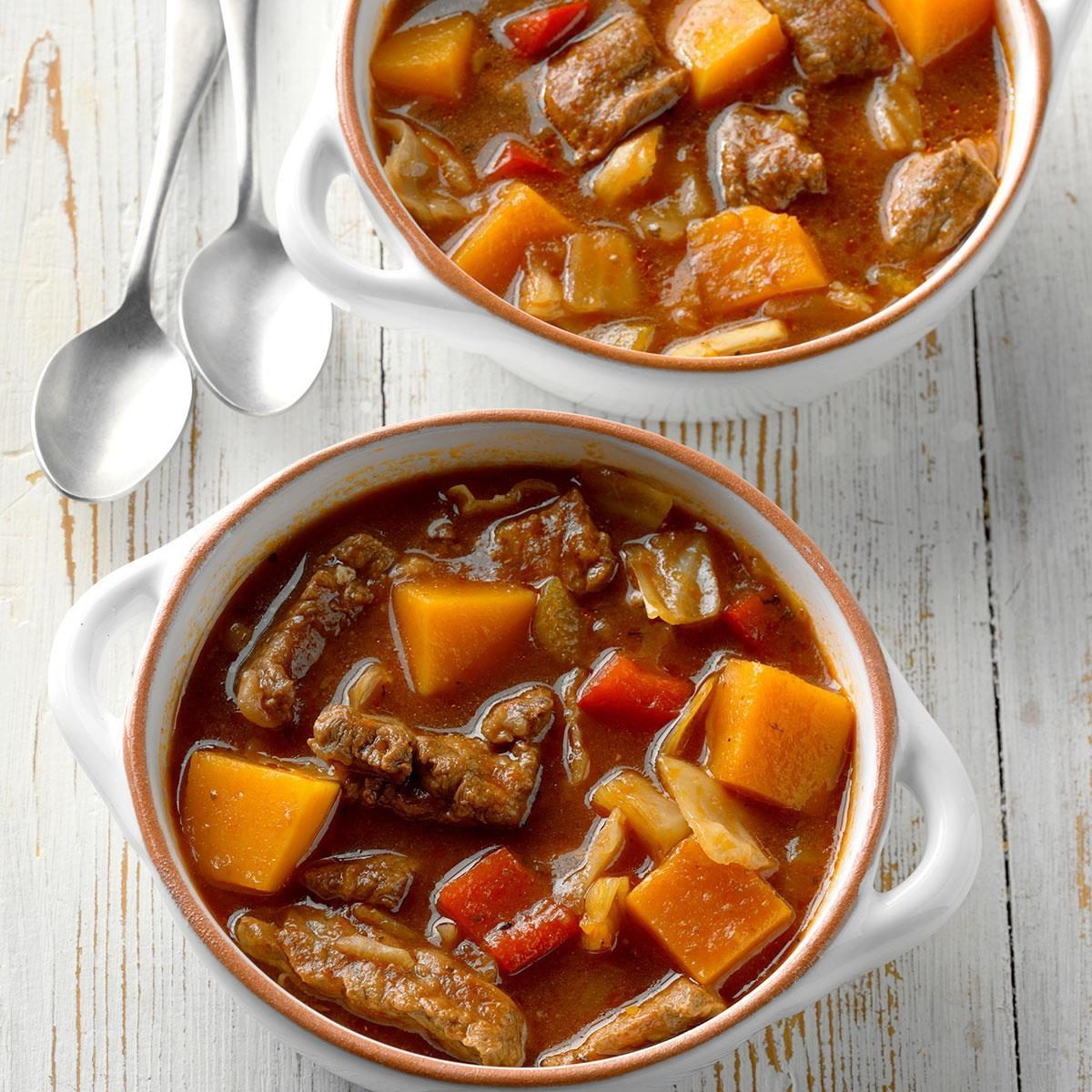 Butternut Beef Stew