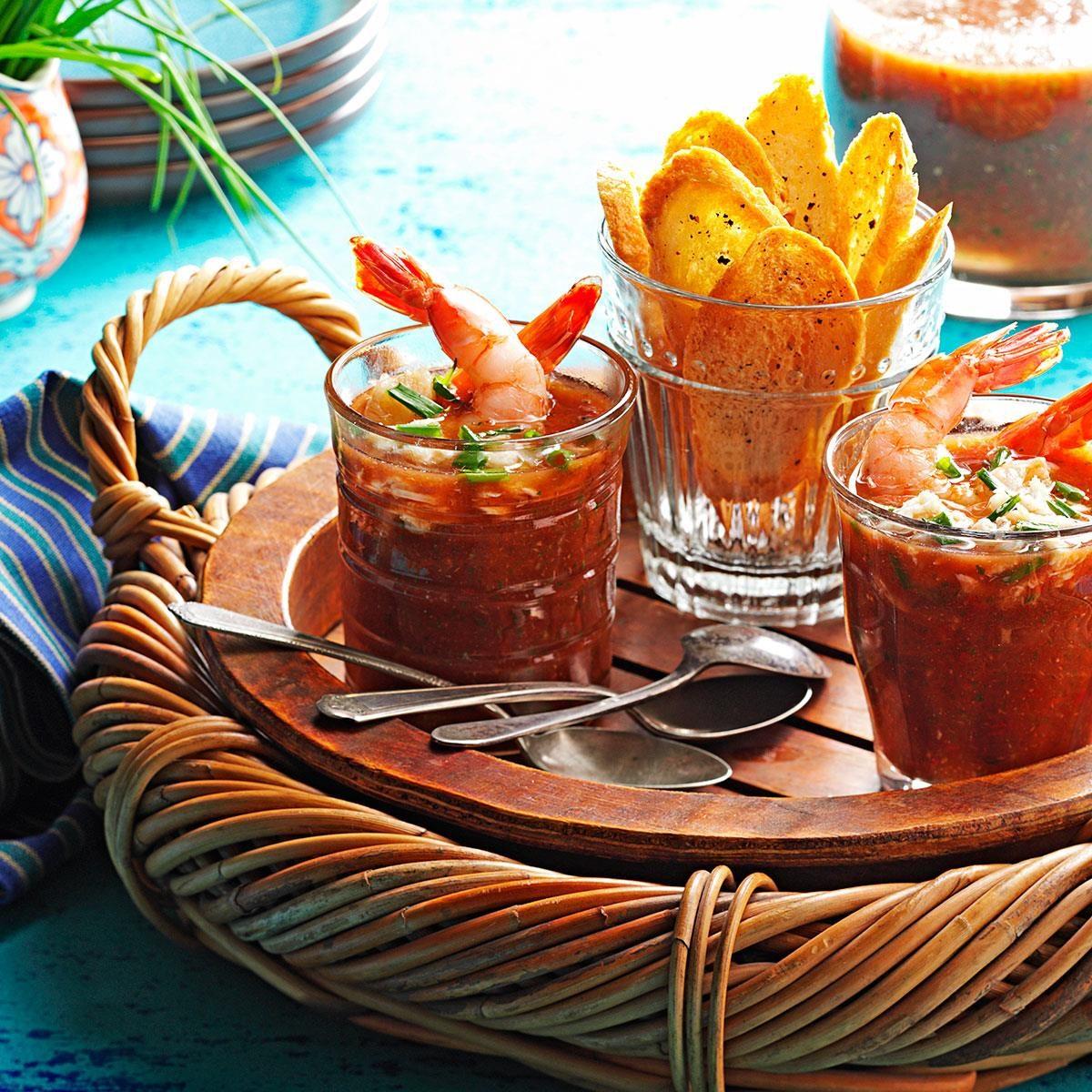 Louisiana: Cajun Gazpacho