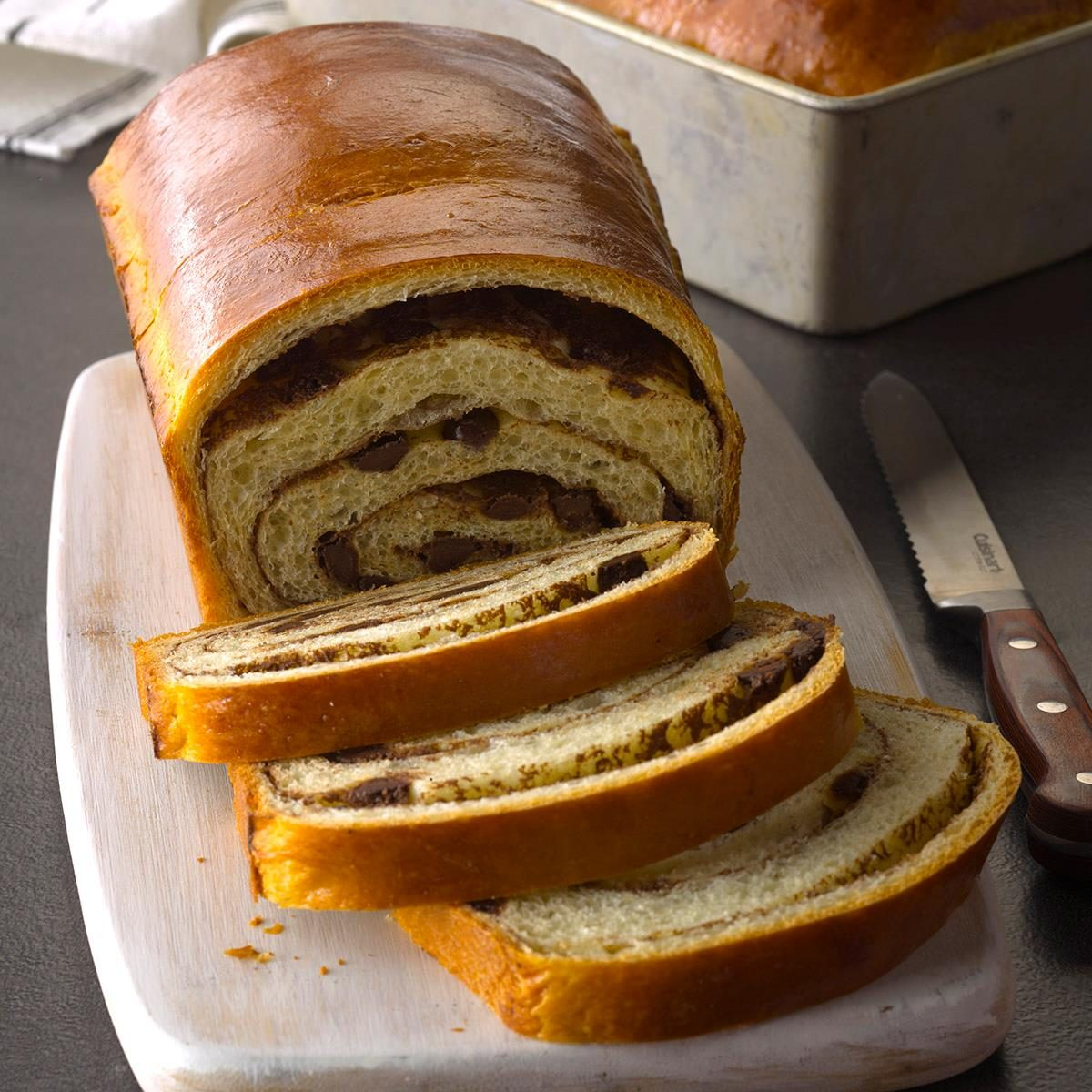 Libra: Chocolate Pinwheel Bread