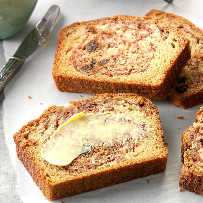 Capricorn: Cinnamon Raisin Quick Bread