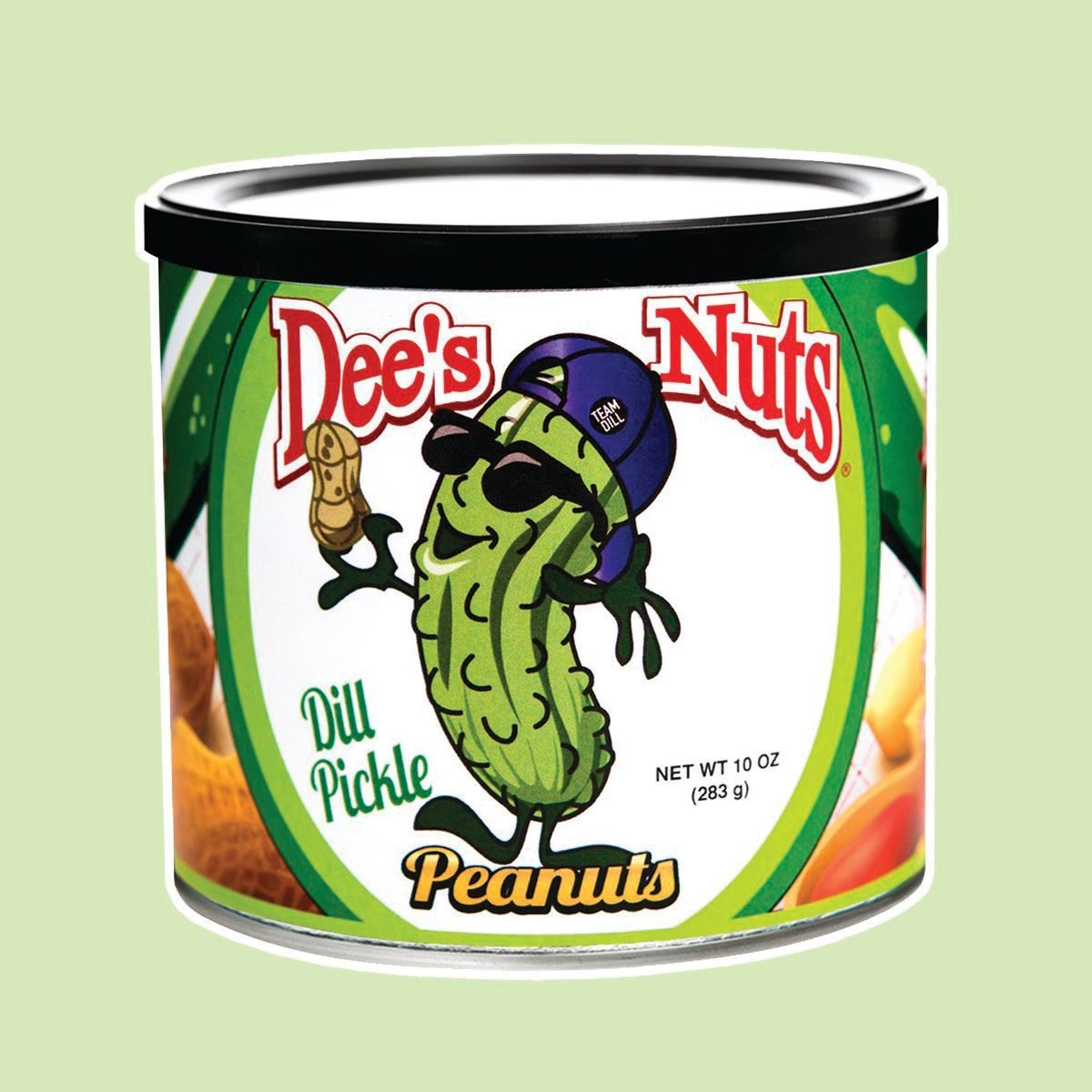 Dee's Nuts Dill Pickle Flavored Gourmet Peanuts (10 oz)
