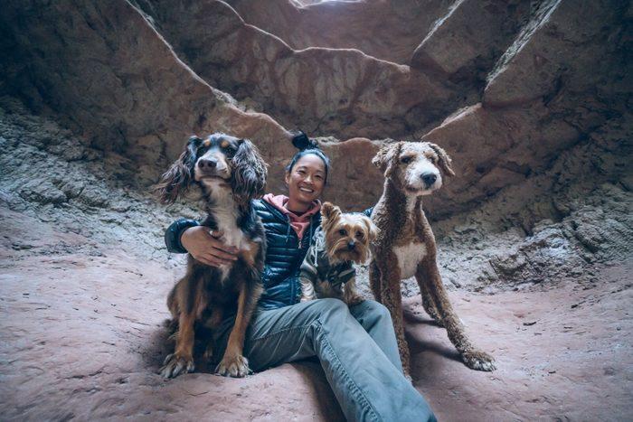 road trip with dogs Jesse Stebbins