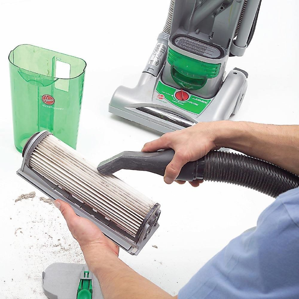 Cleaning Vacuum with a Vacuum