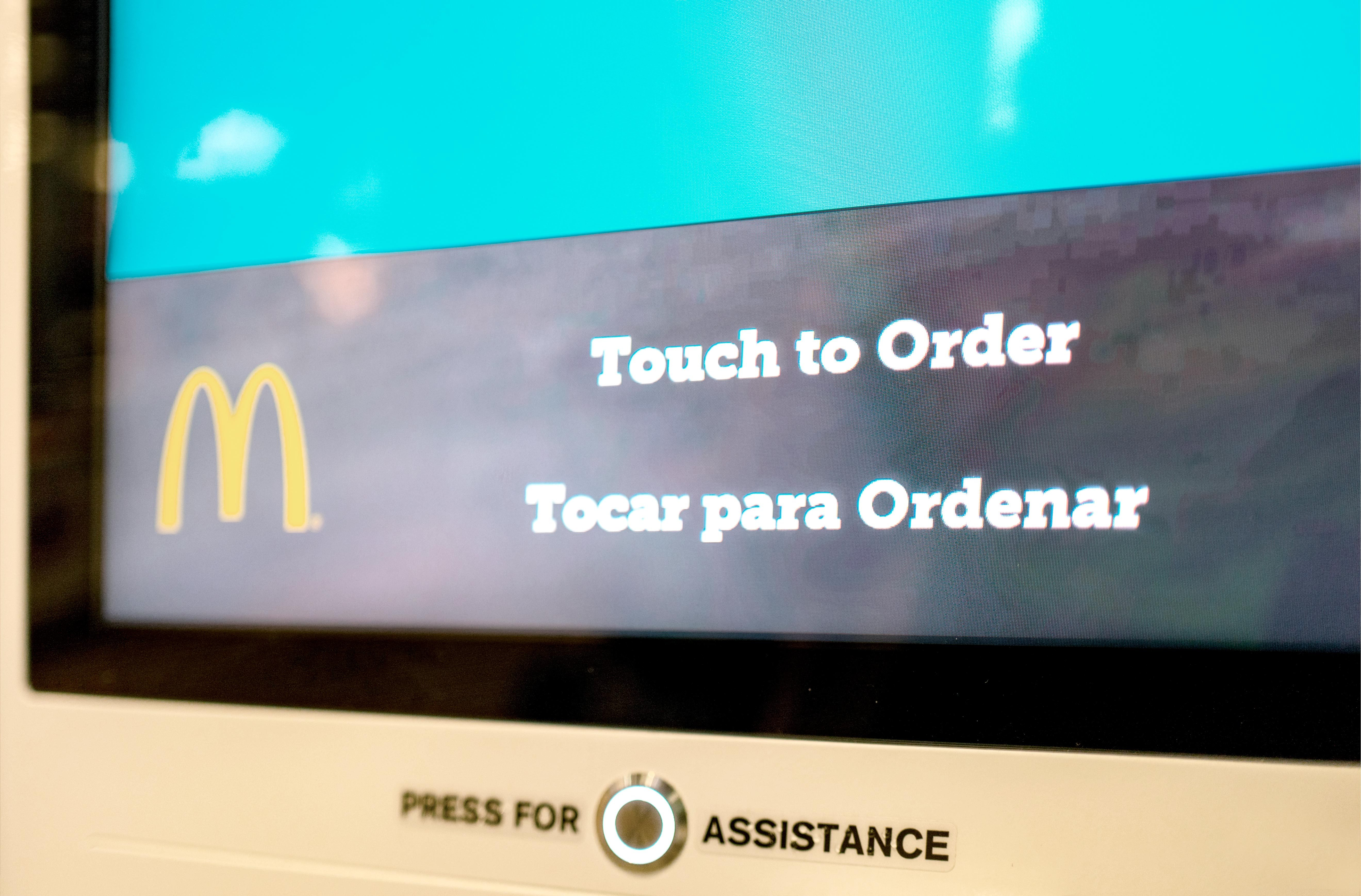 Mcdonald's Automated Ordering