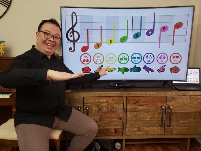 Education Through Music david martinez