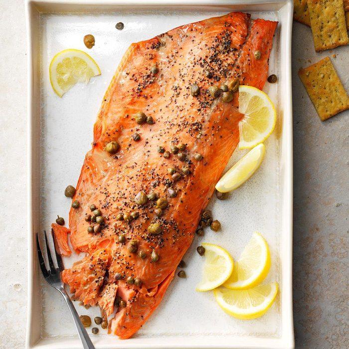 Easy Smoked Salmon