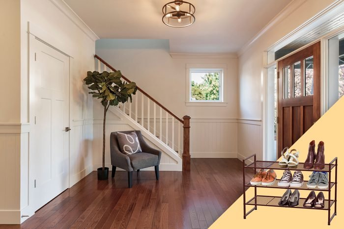 entryway with suggested product