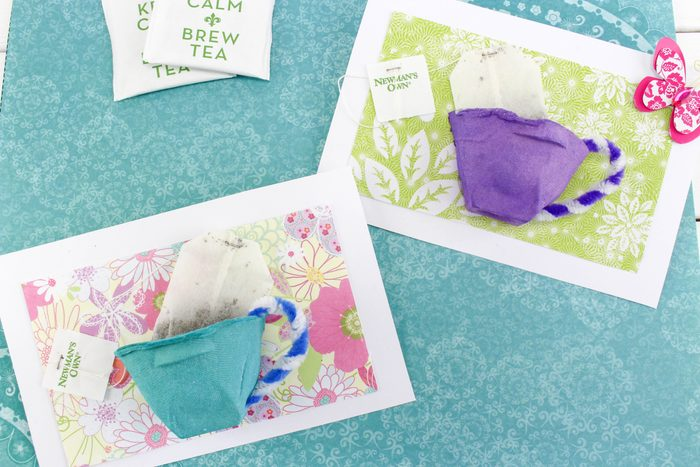 teabags mother's day cards