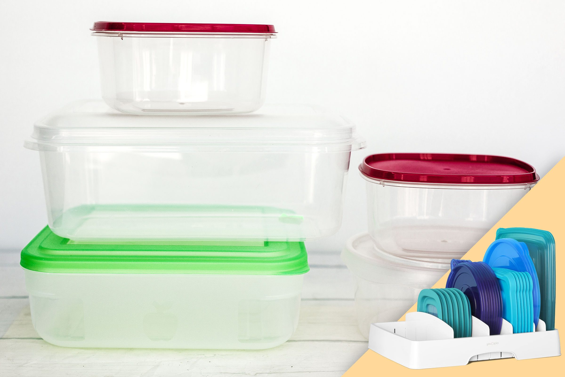 food storage containers; with suggested product