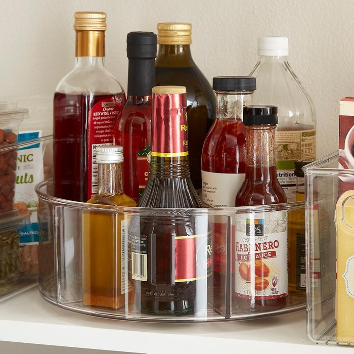 The Container Store iDesign Linus Divided Lazy Susan