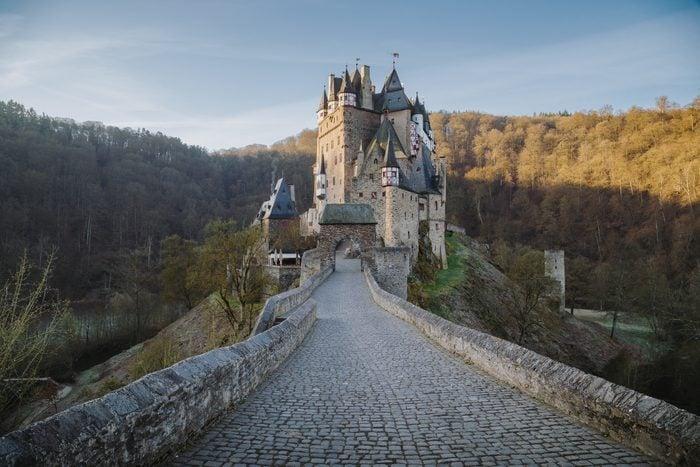 Eltz Castle at sunrise, Rheinland-Pfalz, Germany