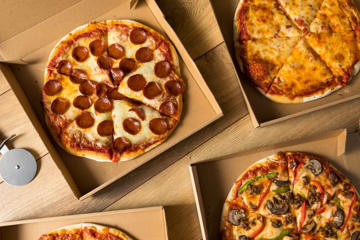 Take Out Pizza in a Box