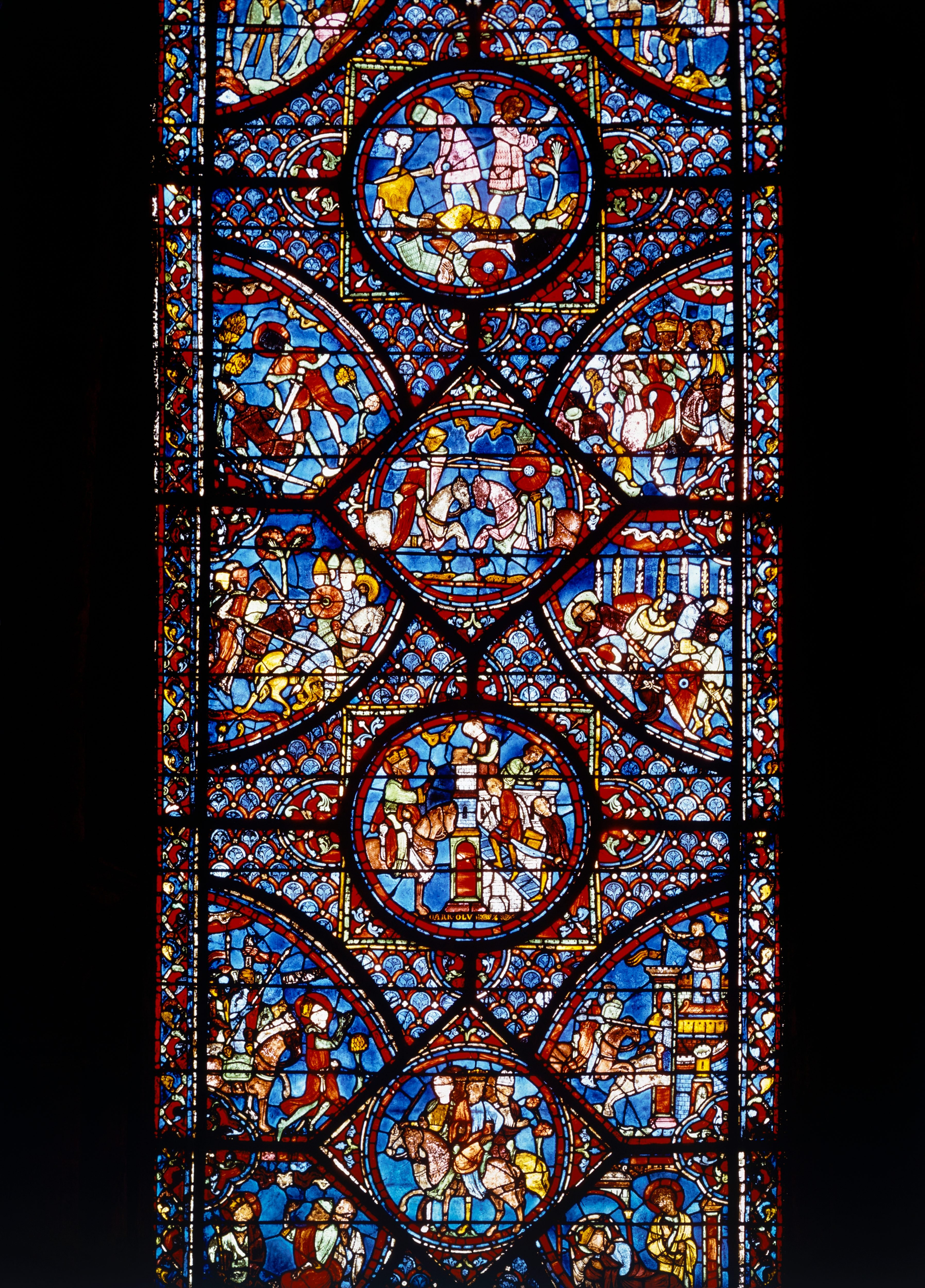 Legend of Charlemagne, Chartres Cathedral