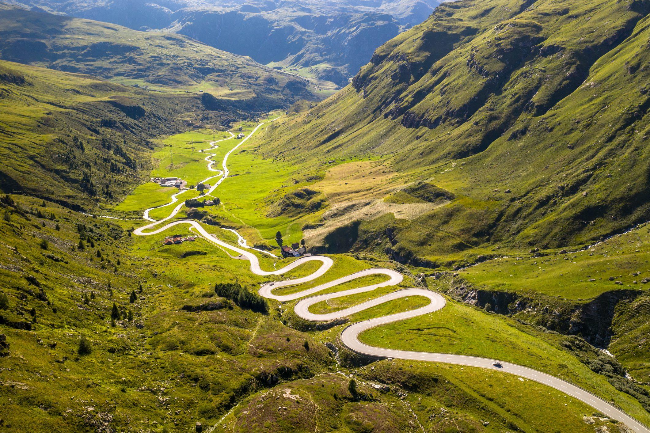Mountain Pass Road, Switzerland