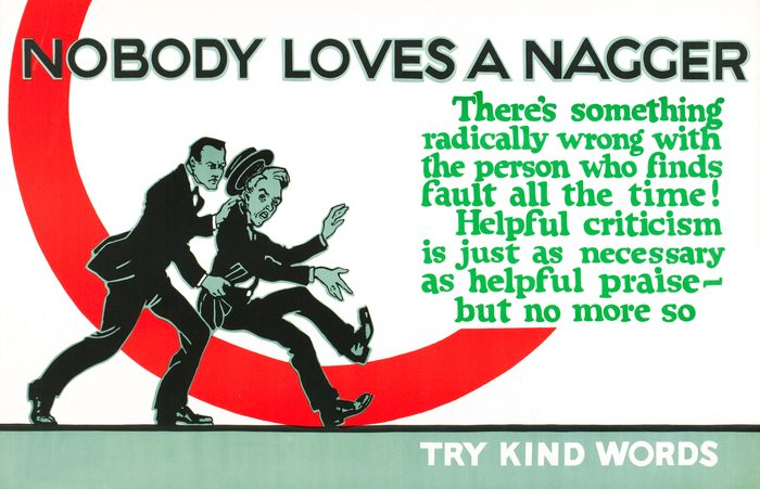 Nobody Loves A Nagger