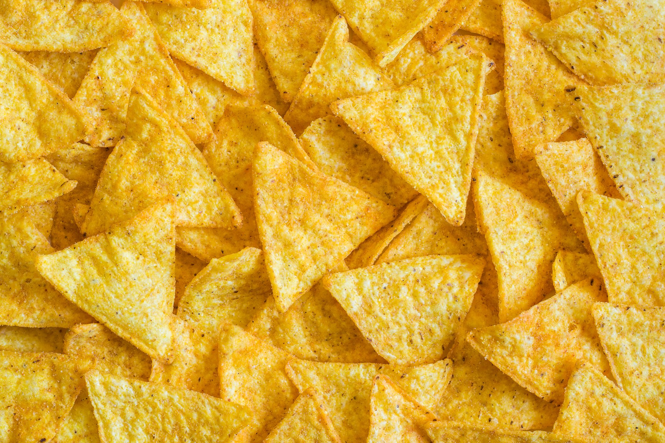 Full Frame Shot Of Nacho Chips