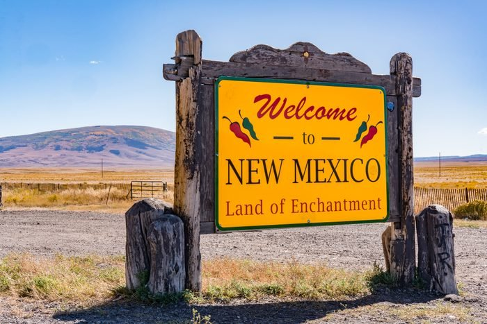 Welcome to New Mexico - Land of Enchantment