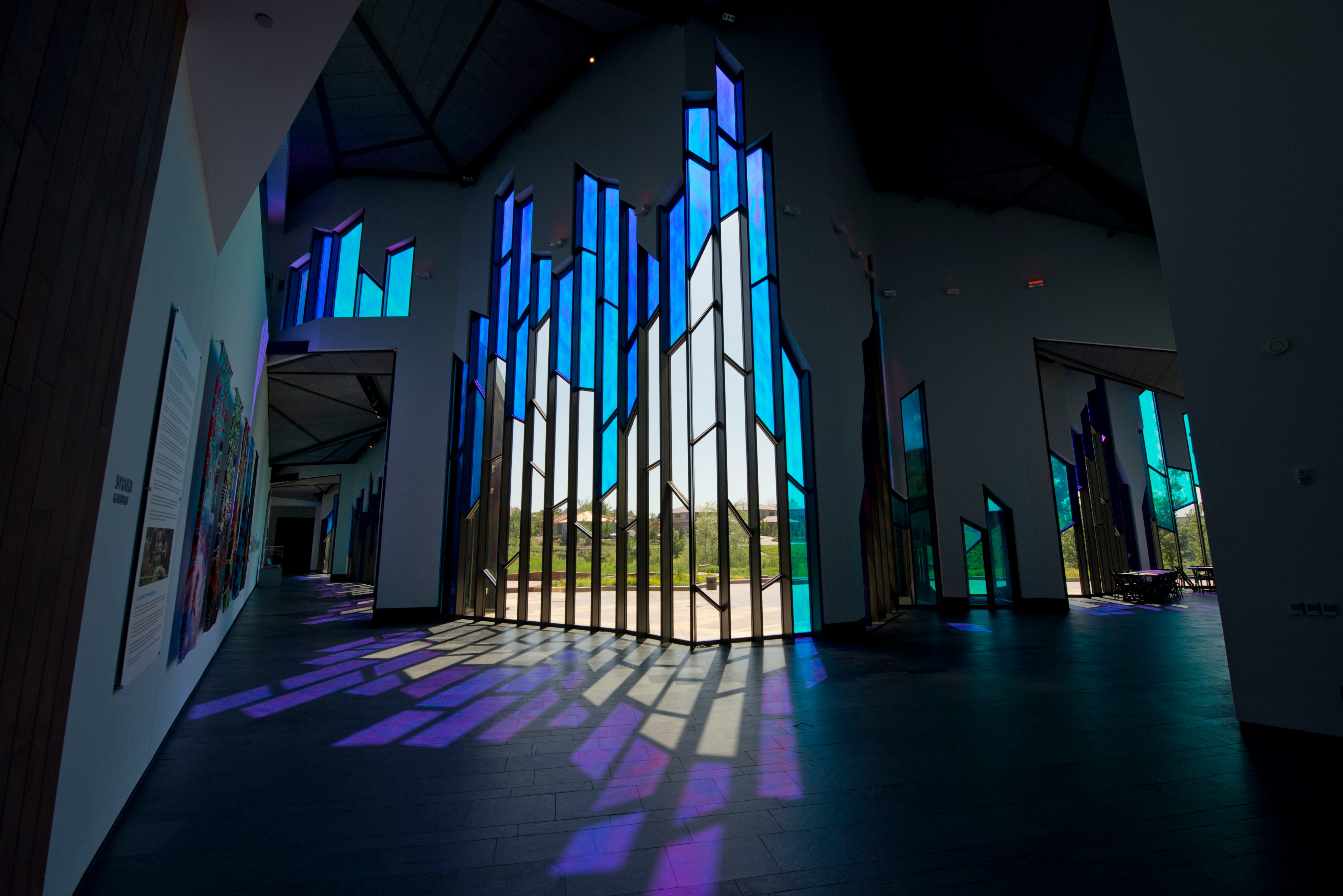Kansas, Overland Park, Museum at Prairiefire, Interior View