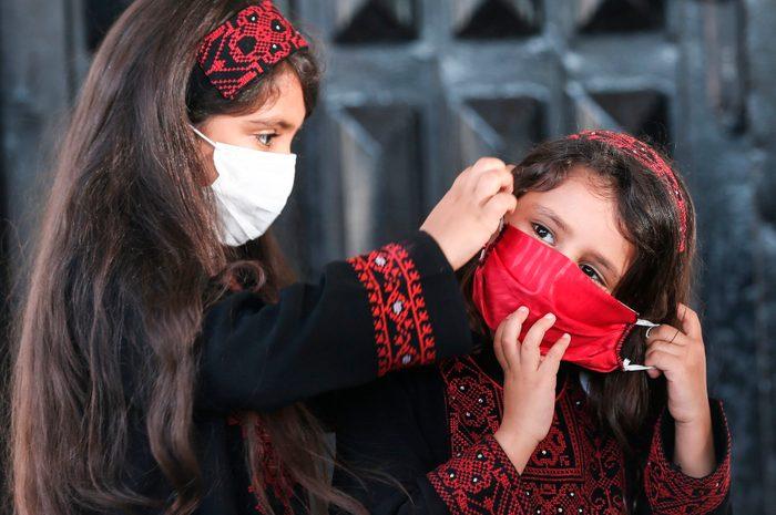 TOPSHOT-PALESTINIAN-GAZA-HAMAS-GRADUATION-HEALTH-VIRUS