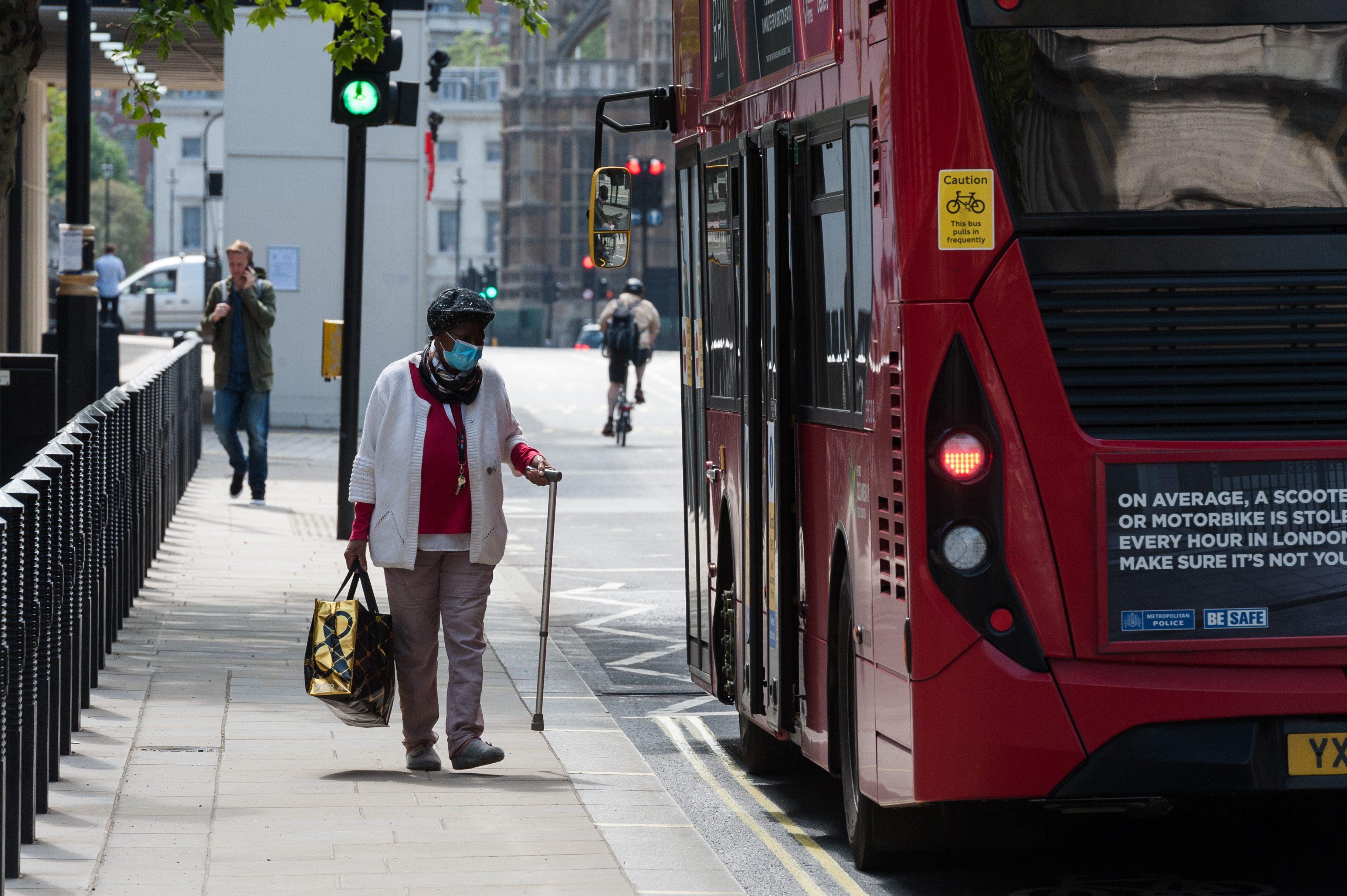 Coronavirus Lockdown in London, 7 May