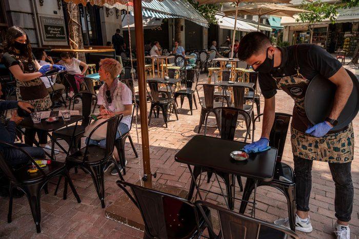Coronaviurs - Greece opens gastronomy
