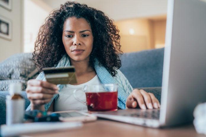 Emergency credit card usage