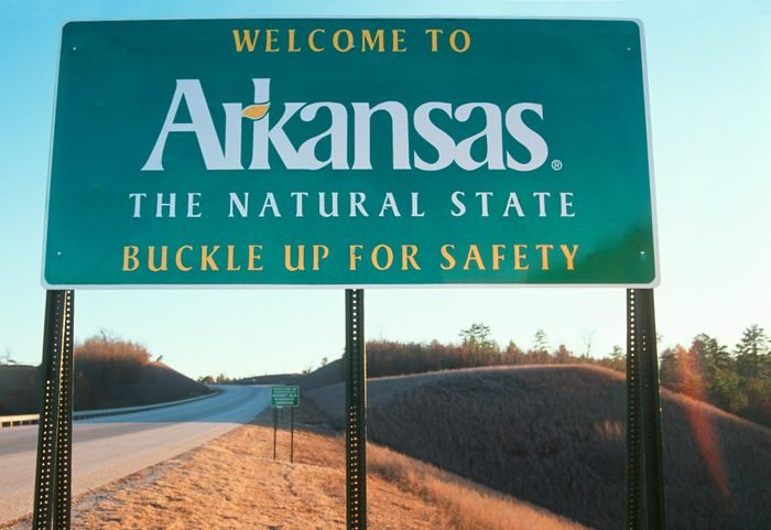 Welcome to Arkansas Sign