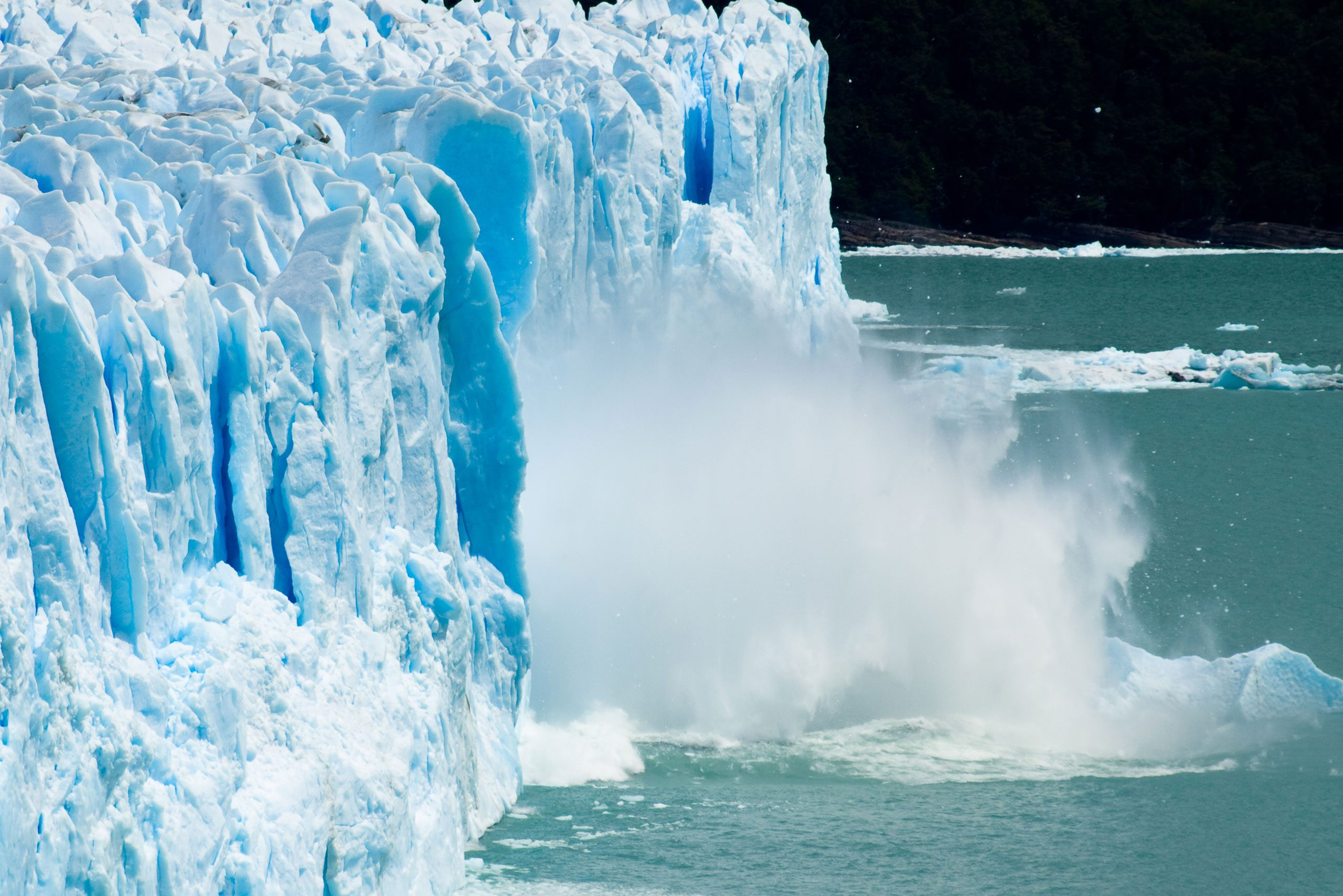 Glaciar Perito MorenoParque Nacional Los GlaciaresPatagonia Argentina.