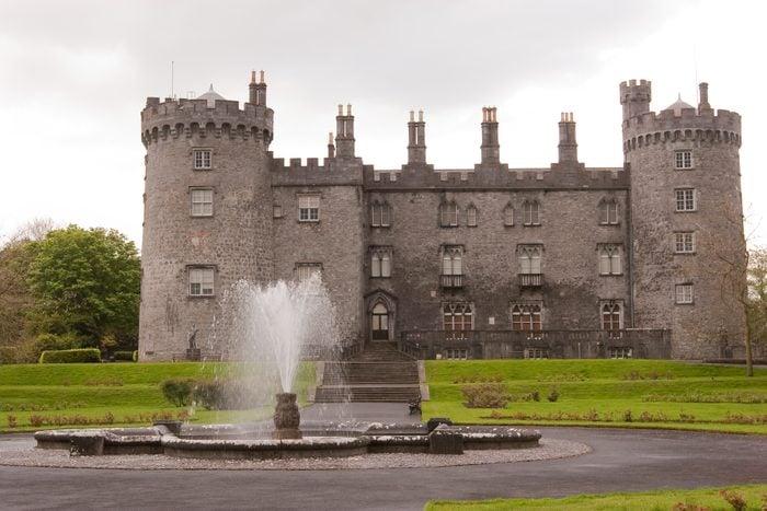 Kilkenny Castle on a beautiful day