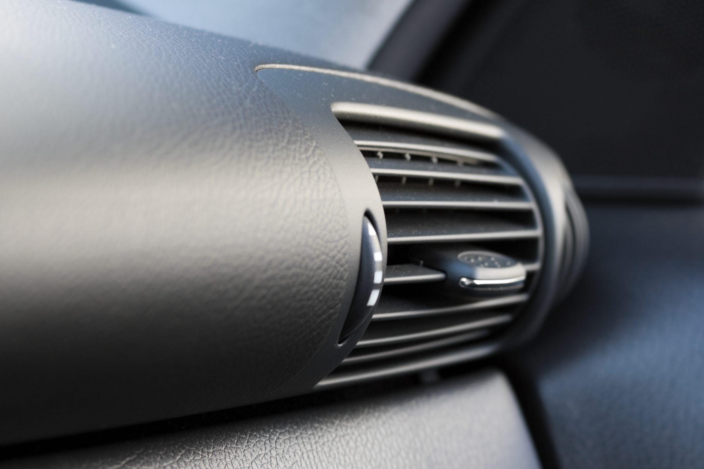 fan in a car